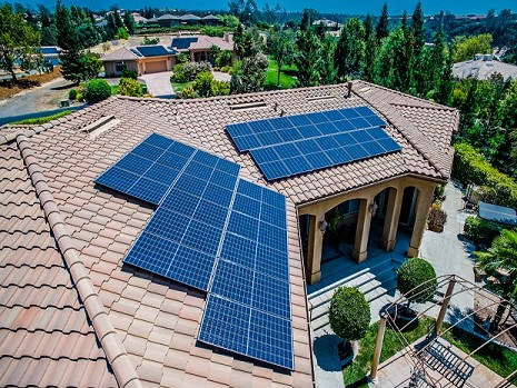 Residential 10kW Grid Tied Solar Home System